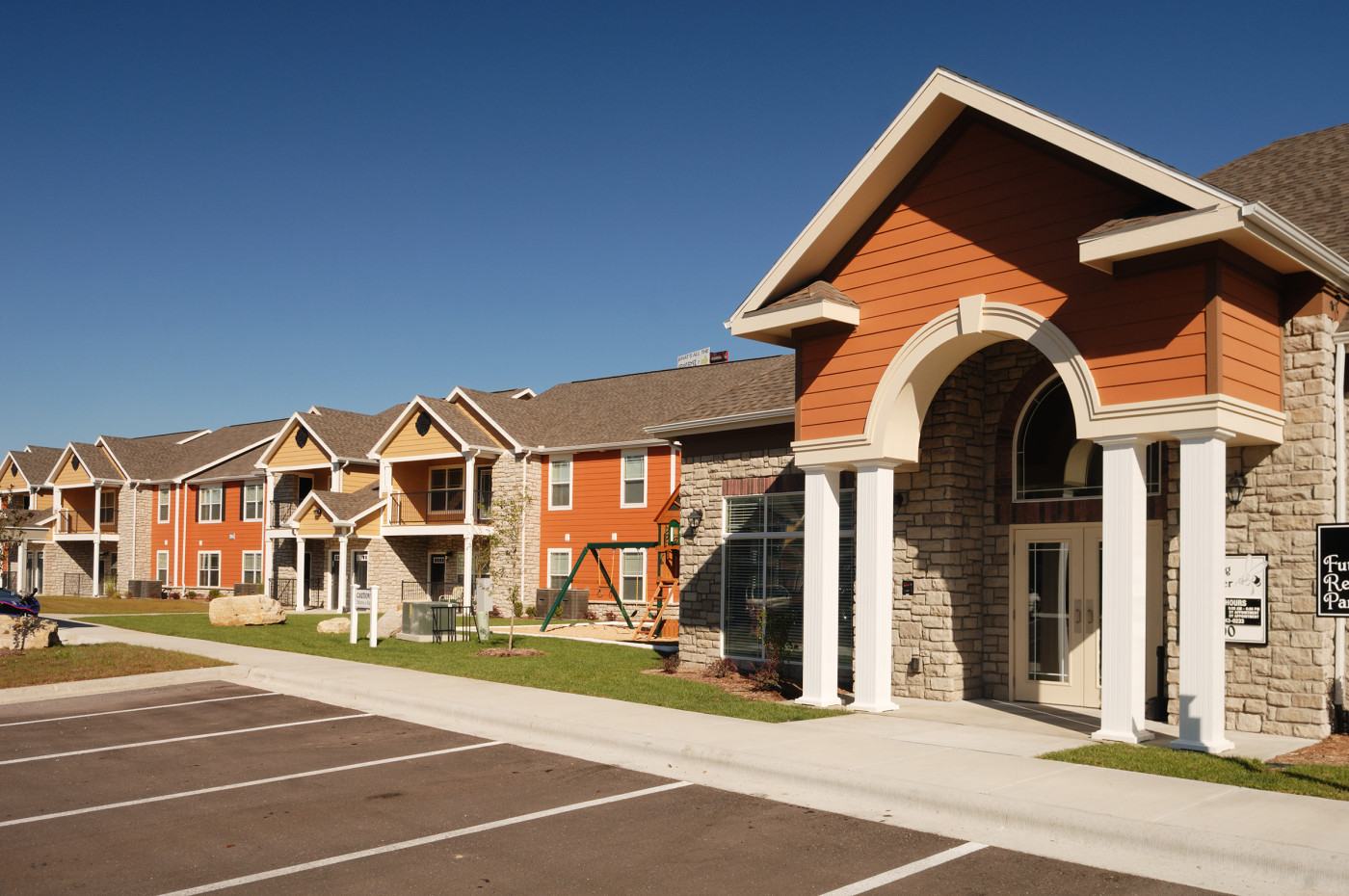 Bee Creek Apartment Leasing Office Exterior