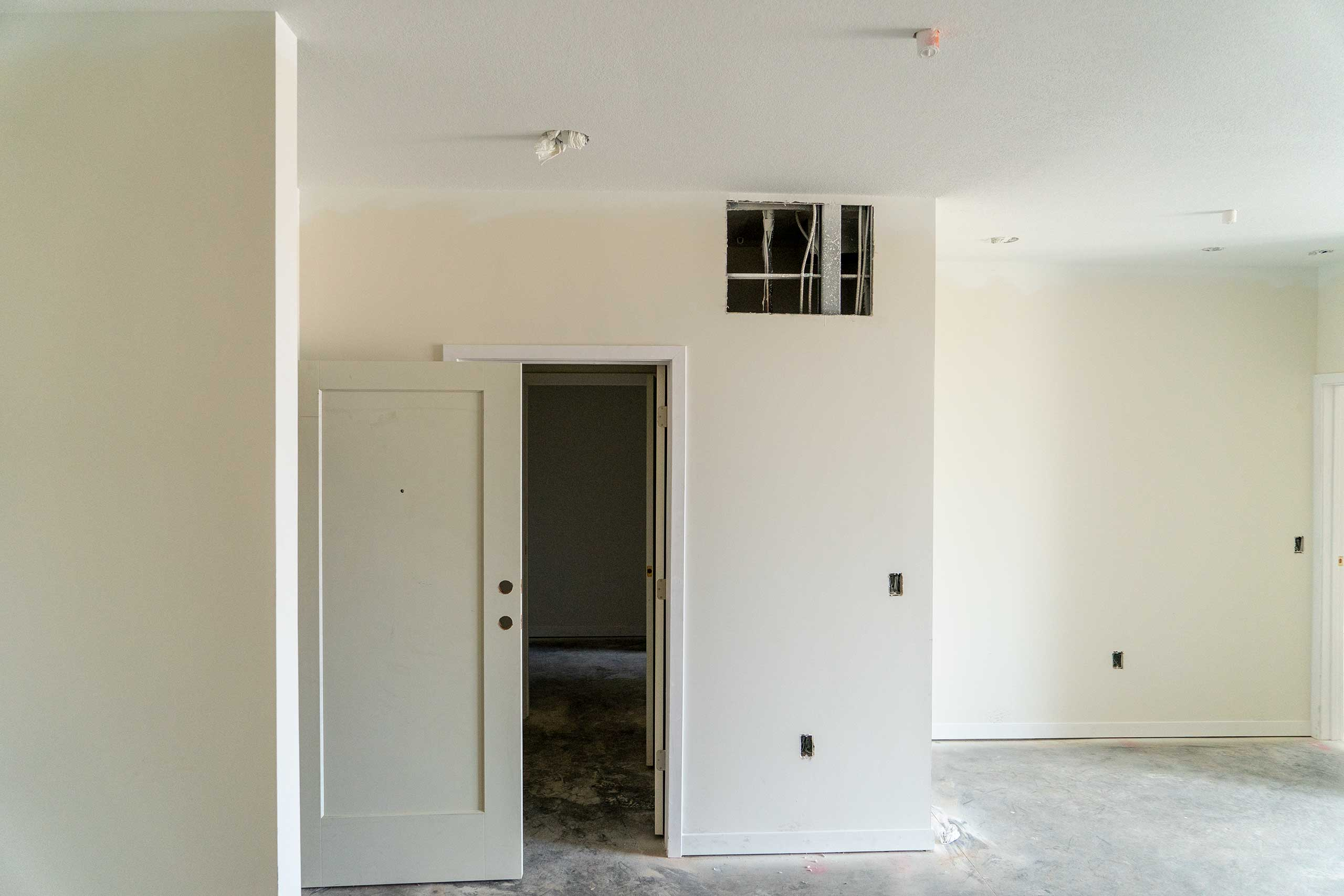 District-at-City-Center-Drywall-Metal-Studs