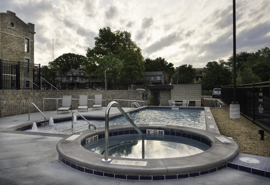 Norman School Lofts Hot Tub & Pool