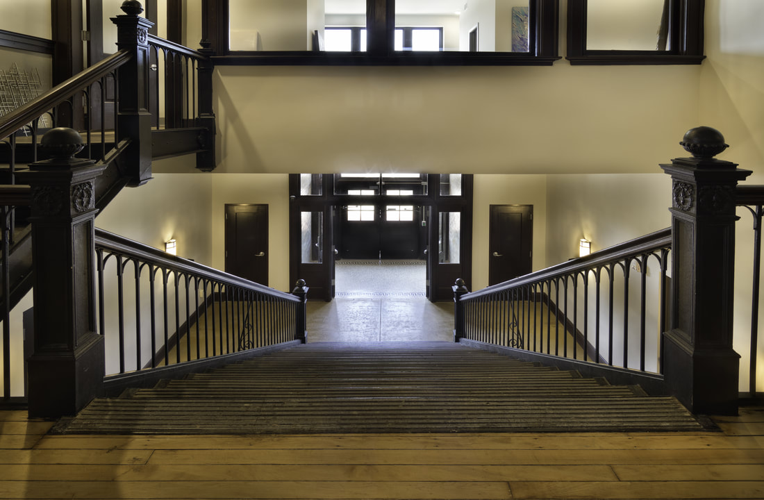 Norman School Lofts Staircase