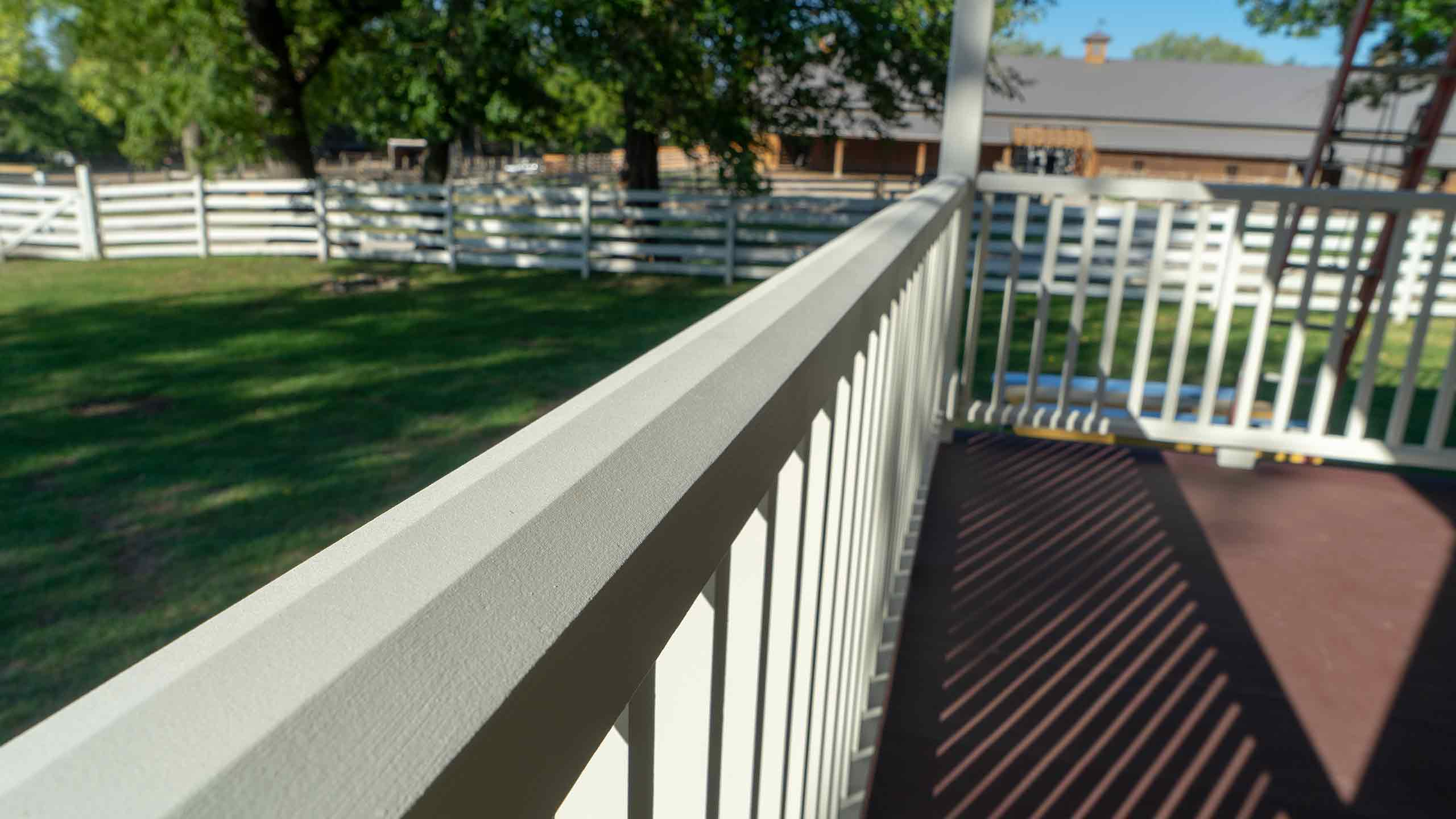 Mahaffie Farmstead Porch